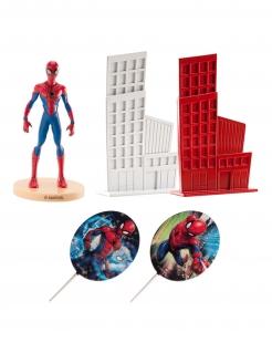 Spiderman™-Kuchendeko Dekofiguren 5-teilig bunt 8 cm