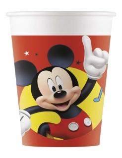 Mickey Maus™ Trinkbecher 8 Stück bunt 200 ml