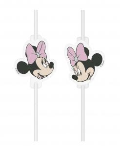 Minnie Maus™ Strohhalme 4 Stück bunt