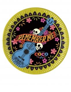 Kleine Coco™Pappteller 8 Stück bunt 20 cm
