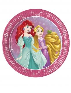 Disney™-Prinzessinnen Teller 8 Stück bunt 20 cm