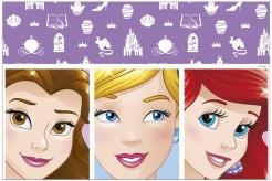 Disney Dreaming™-Tischdecke Prinzessinnen Tischdeko bunt 120x180cm