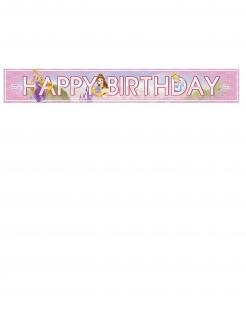 Disney Prinzessinnen™ Geburtstagsbanner bunt 90 x 13 cm