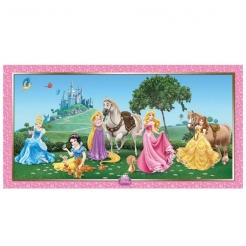 Disney Prinzessinnen™-Wanddekoration bunt 150 x 77 cm