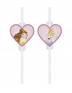 Disney Prinzessinnen™ Strohhalme 4 Stück bunt