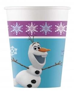 Frozen™-Trinkbecher Tischdeko 8 Stück bunt 200ml