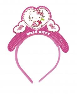 Hello Kitty™-Diademe für Kinder 4 Stück pink-weiss