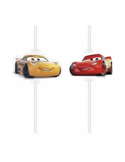 Cars 3™ Strohhalme 4 Stück bunt