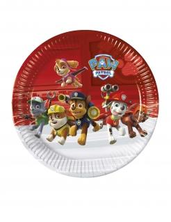 Paw Patrol™-Pappteller Hundestaffel Tischdeko 8 Stück bunt 23cm