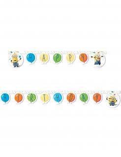 Minions™ Geburtstags-Girlande bunt 2 m