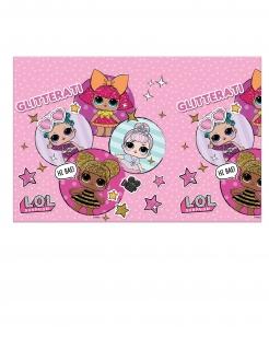 LOL Surprise™-Tischdecke Partydeko rosa 120x180 cm