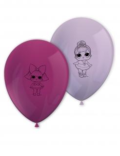 LOL Surprise™-Luftballons Dekoration 8 Stück rosa
