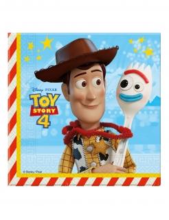 Toy Story 4™-Servietten 20 Stück bunt 33 x 33 cm