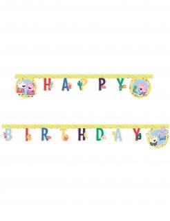 Peppa Wutz™-Girlande Geburtstag Partydeko bunt 2 m