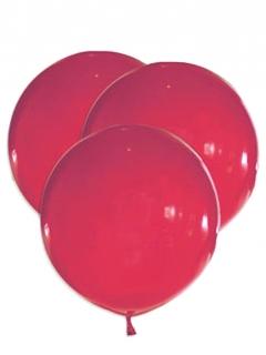 Latex-Luftballons 5 Stück rot 47 cm