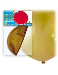 Riesiger Latexballon gold 80 cm