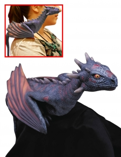 Drogon™-Figur Kostümaccessoire Game of Thrones™ violett