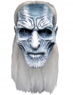 Weißer Wanderer Maske für Erwachsene Game of Thrones™ weiss-grau