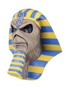 Iron Maiden™-Maske Powerslave Horror-Maske haut-gelb-blau