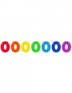Zahlen-Girlande Geburtstagsgirlande bunt 6m