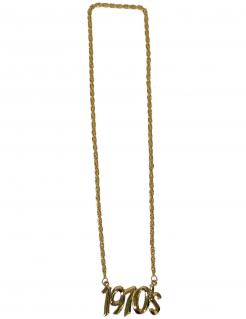 1970er Halskette 70er-Jahre-Schmuck gold
