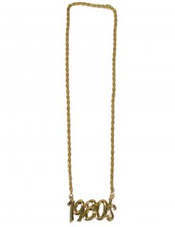 1980er Halskette 80er-Jahre-Schmuck gold