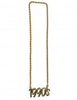 1990er-Halskette Accessoire gold