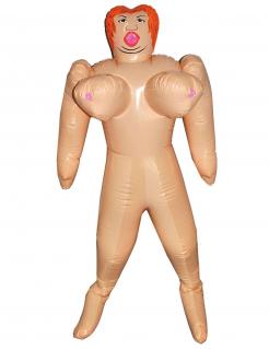 Aufblasbare Puppe mit großen Brüsten 150 cm