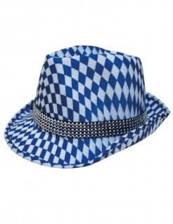 Oktoberfest-Hut Bayern-Hut blau-weiss