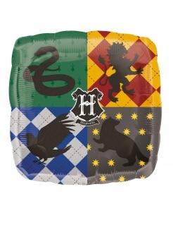Harry Potter™-Aluminiumballon Häuser Hogwarts bunt 68 x 63 cm