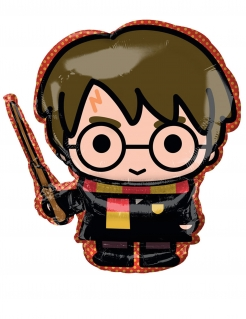 Niedlicher Harry Potter™-Aluminiumballon bunt 25 cm