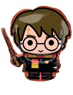 Harry Potter™-Luftballon Chibi Partydeko bunt 68x63 cm