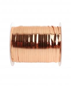 Geschenkband glänzend roségold 10 mm x 25 m