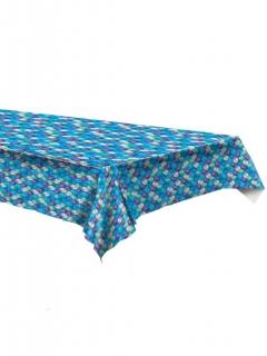 Meerjungfrauen-Tischdecke aus Kunststoff bunt 137 x 274 cm