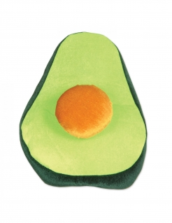 Witziger Avocado-Hut grün-orange