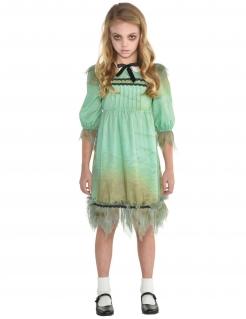Geistermädchen-Kostüm Zwilling grün