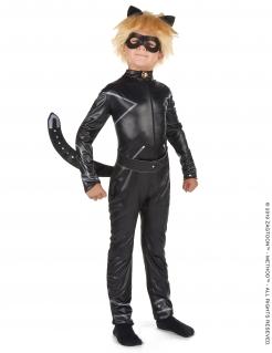 Cat Noir™-Kostüm für Jungen Miraculous™-Kostüm schwarz