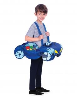 Catboy™-Kostüm für Kinder PJ Masks™ Karneval blau