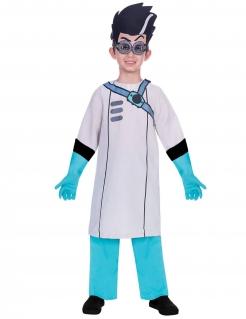Romeo-Kostüm PJ Masks™-Kostüm für Kinder weiss-blau