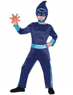 Nachtninja™-Kostüm für Kinder PJ Masks™ Kostüm lila-blau