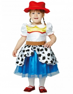 Jessie-Kostüm für Kleinkinder Toy Story™ blau-weiss-rot