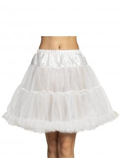Petticoat für Damen Unterrock Accessoire weiss