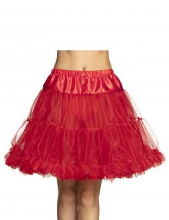 Petticoat für Damen Unterrock Accessoire rot