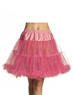Petticoat für Damen Unterrock Accessoire rosa