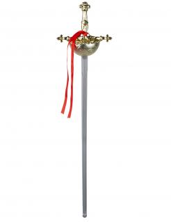 Musketier-Schwert gold-silber