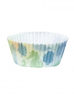Meerjungfrau-Muffinförmchen Partydeko 50 Stück bunt 6,5 cm