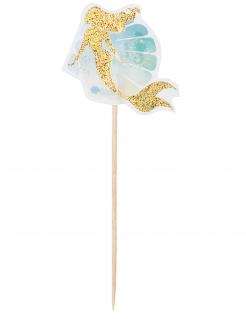 Meerjungfrau-Spieße 12 Stück 12 cm