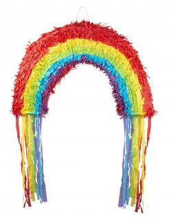 Regenbogen-Piñata bunt 37 x 58 cm