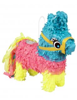 Mini-Piñata Esel bunt 20 x 18 cm