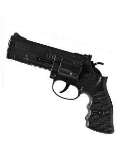 Spielzeug-Pistole Kostüm-Zubehör schwarz 21cm